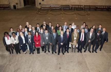 Participants in Westminster Hall