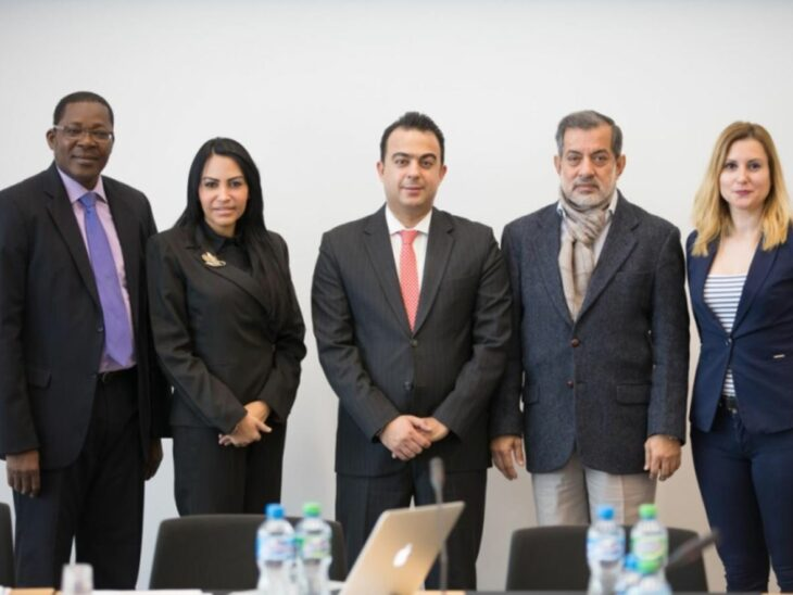 Members of the Committee on the Human Rights of Parliamentarians. © IPU