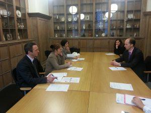 IPU Committee Secretaries visit to UK Parliament