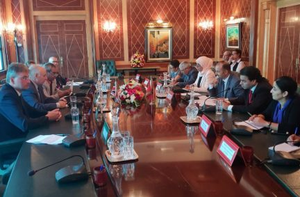 Morocco APPG meet with their counterparts in Rabat
