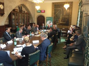 Ambassadors informing MPs and Peers about the situation in their countries
