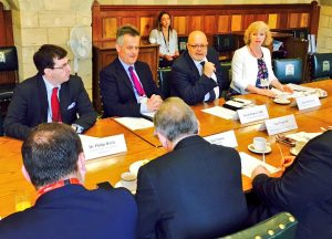 UK Ambassadors to key African states meet with MPs and Peers for discussions in the IPU Room