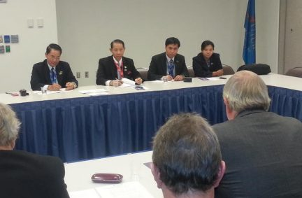 UK delegation meets with delegation from Burma