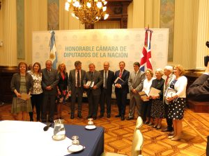 UK Delegation with Argentine counterparts in the National Congress