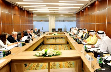 Session of talks between the UAE Inter-Parliamentary Union Group and the British Delegation at the Federal National Council