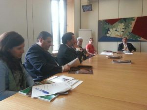 Delegation from Portugal meet Chair of the EU Scrutiny Committee, Mr William Cash MP