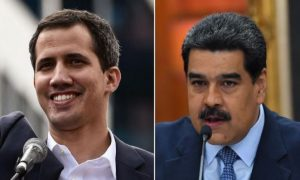 President Guaido and President Maduro