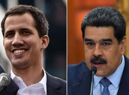 President Guaido and President Maduro