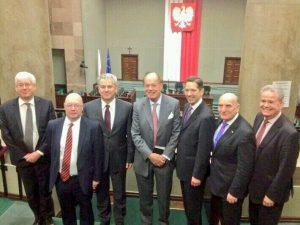 BGIPU delegation meet with Deputy Marshall of the Polish Sejm