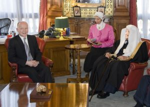Delegation meets with the Foreign Minister