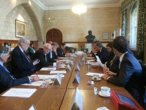 Roundtable between UK parliamentarians and counterparts from Portugal