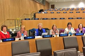 BGIPU sent a six-member delegation to the CSW in New York