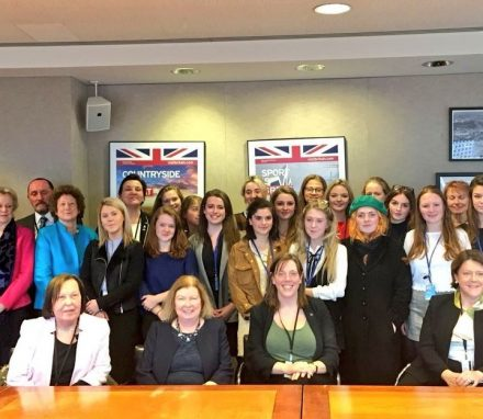 The BGIPU delegation joined with members of the Select Commitee on Women and Equalities to meet young British delegates also attending CSW in 2018