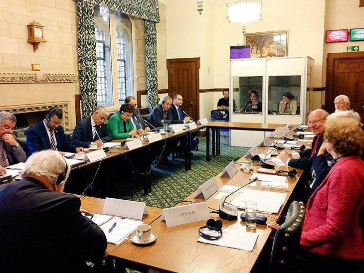 Roundtable discussion between delegation from Morocco and UK counterparts
