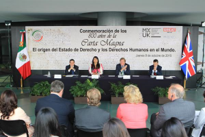 Joint UK event with Mexican Senate marking 800th anniversary of the Magna Carta