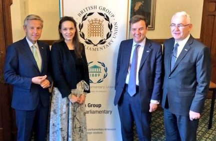 The Austrian delegation meet Greg Hands MP to discuss the UK's post-Brexit future
