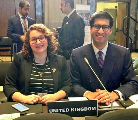 The UK was represented at the 4th IPU Conference of Yopung Parliamentarains by Daniella Rowley MP and Ranil Jayawardena MP.JPG