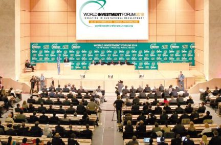 The World Investment Forum had high-level speakers from across the world.