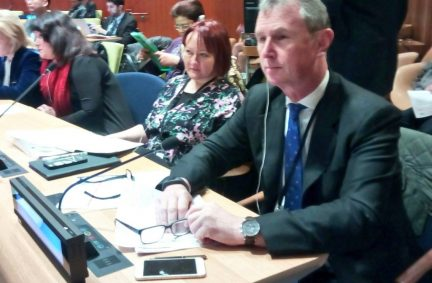 UK Delegates to the IPU Annual Hearing at the UN in New York