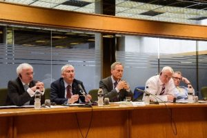 The UK Delegation meets the Committee on Addictions