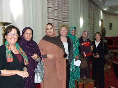 Meg Munn MP with Female members of the House of Representatives