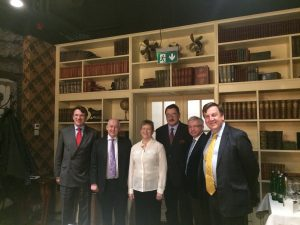 UK Delegation with the Chair of the UK-Hungary Friendship Group of the National Assembly