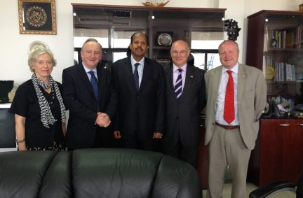 APPG Members meet the Minister of Foreign Affairs of Djibouti