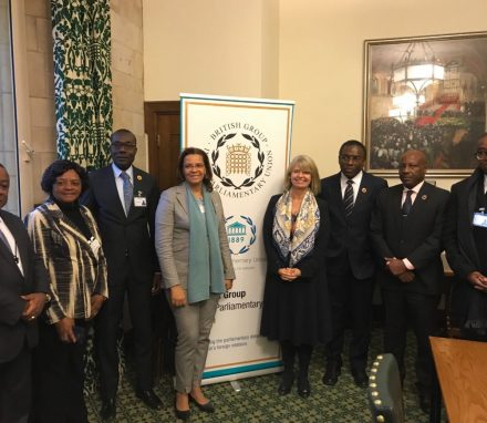Parliamentary delegation from Angola meet the FCO Minister for Africa, Ms Harriett Baldwin MP
