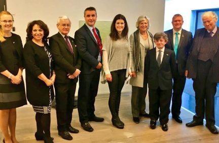 UK Delegation meet Minister of Tourism of Iceland