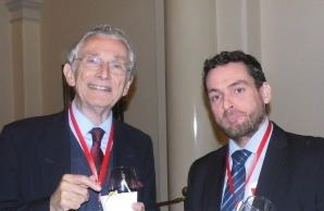 Lord Fowler meets with Dyfan Jones of UNDP in Melbourne