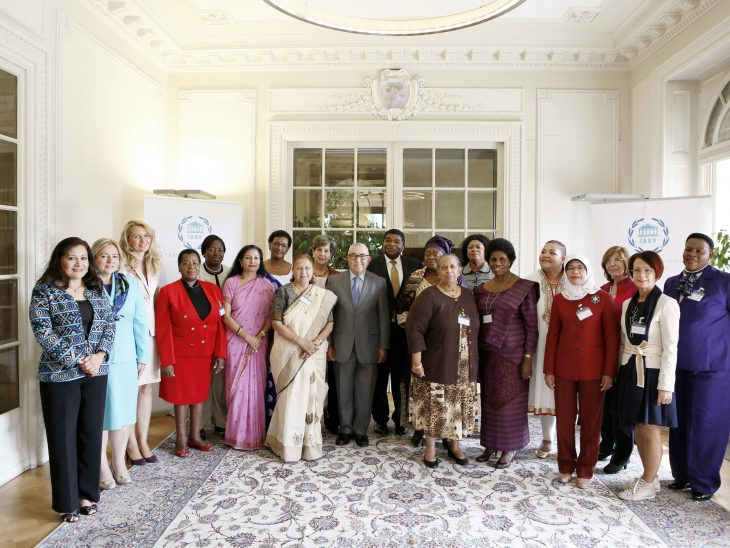 Women Speakers from 16 countries gathered at the IPU Headquarters in Geneva for their 9th meeting in September 2014
