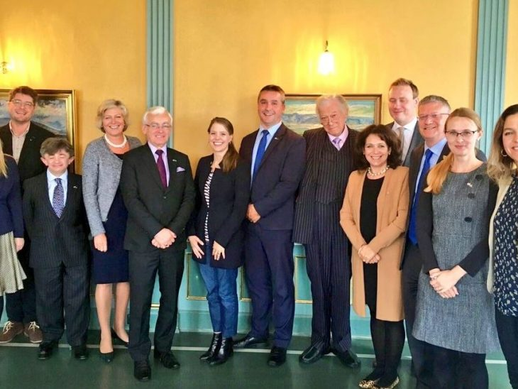 UK Delegation meet counterparts from the Foreign Affairs Committee of the Althing