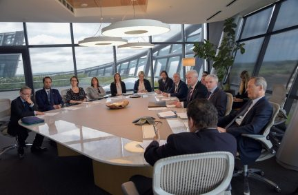 UK delegation visits Zonamerica on the outskirts of Montevideo