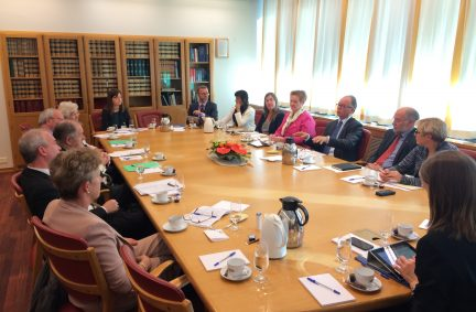 UK Delegation discuss Europe with Storting's Foreign Affairs and Defence Committee