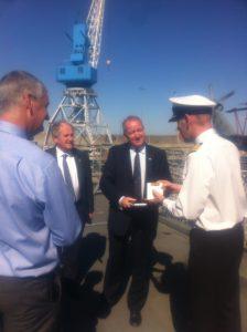 On board HMS Iron Duke
