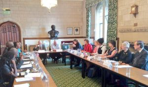 UK MPs/Peers in roundtable discussions with visiting parliamentary delegation from Liberia