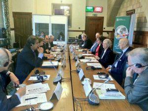 Roundtable between UK and Uruguay parliamentarians