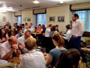 The Quiz pitted 16 teams of MPs, Peers and parliamentary staff and friends against each other