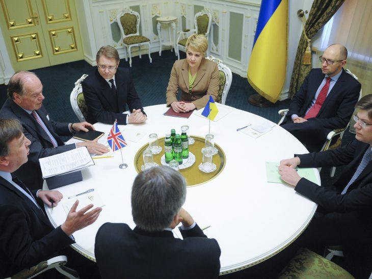 Meeting with Prime Minister Arseniy Yatsenyuk