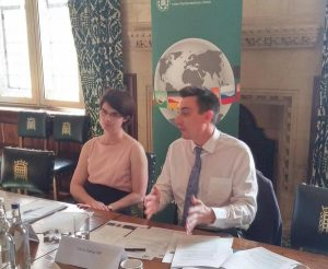 Chloe Smith MP and Gavin Shuker MP present on recent IPU global conferences of young parliamentarians