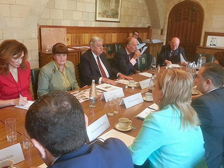 Roundtable meeting chaired by Baroness Cox