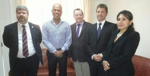 BGIPU/APPG delegation and UK Ambassador meet President Martelly