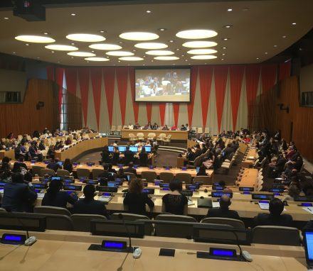 The Development Cooperation Forum underway in the EcoSoc Chamber at the UN.JPG