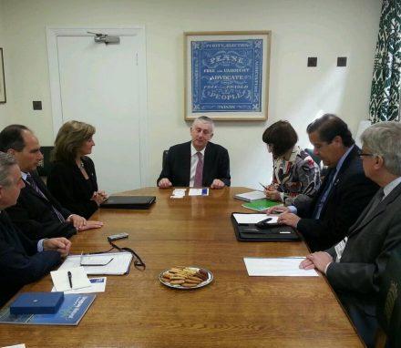 Uruguay Delegation with Deputy Speaker Lindsay Hoyle MP