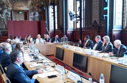 Delegations of the national IPU Groups of the UK and France met in Paris on 27 June 2019