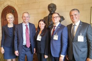 Meeting with Rt Hon David Lidington MP, FCO Minister for Europe