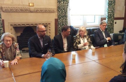 Anwar Ibrahim spoke to UK Peers/MPs in an event arranged by the APPG for Human Rights chaired by Ann Clwyd MP and joined by the Chair of the APPG for Malaysia, Sir William Cash MP