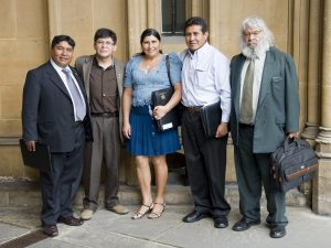 Members of the Bolivian Delegation