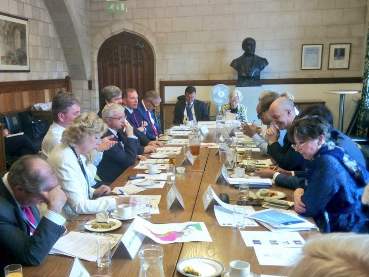 British Ambassadors to Peru, Argentina, Brazil and Chile engage with interested MPs and Peers on BGIPU priorities