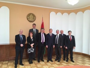 Delegation meeting with Foreign Minister Makei